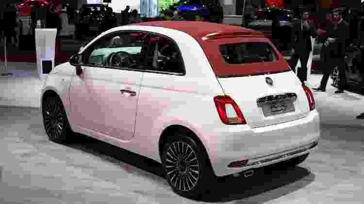 """UOL Carros fez """"jogo dos sete erros"""" quando a Fiat apresentou novo 500: ele mudou pouco, mas evoluiu - Murilo Góes/UOL"""