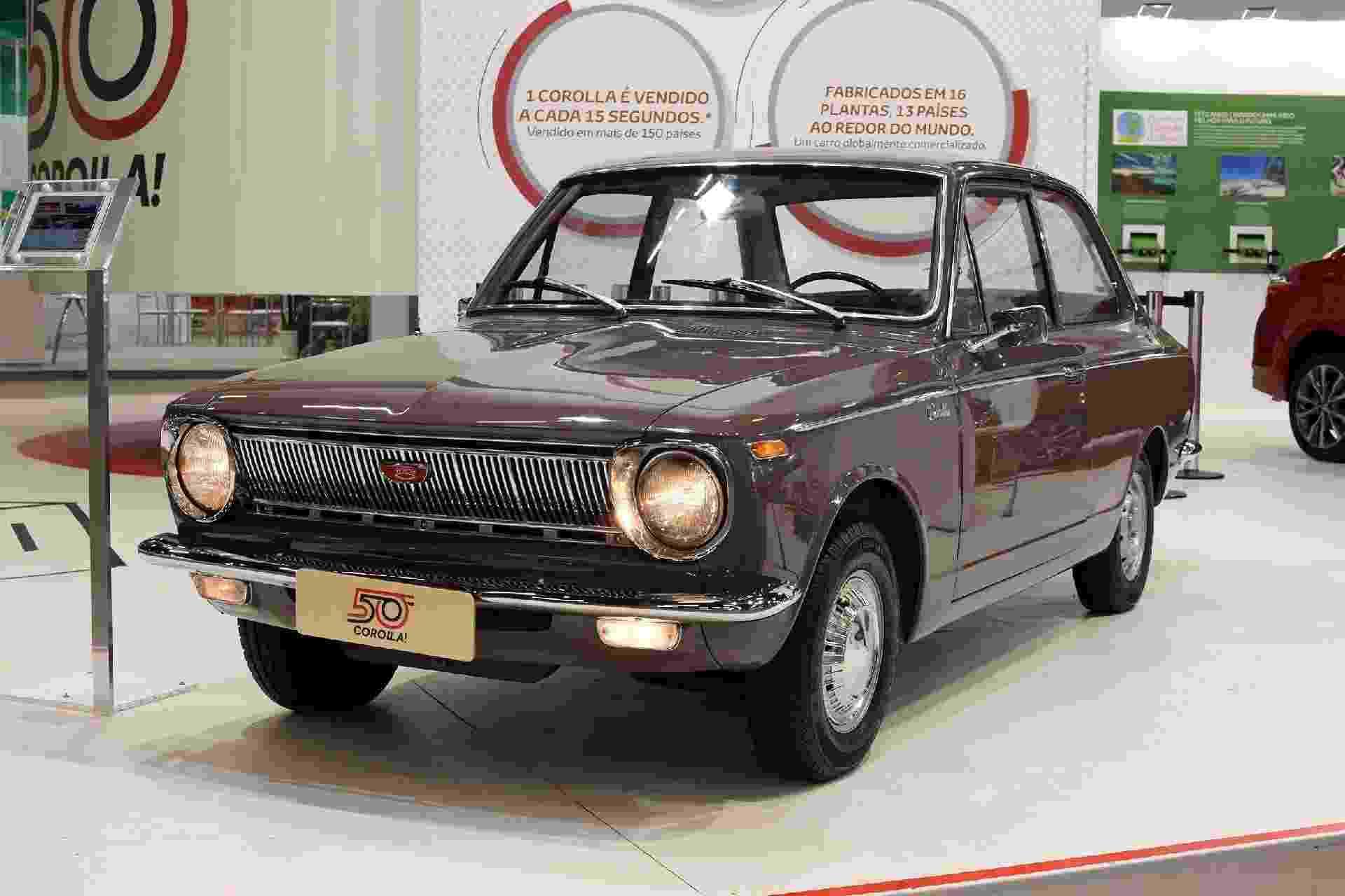 Toyota Corolla 1968 - Murilo Góes/UOL