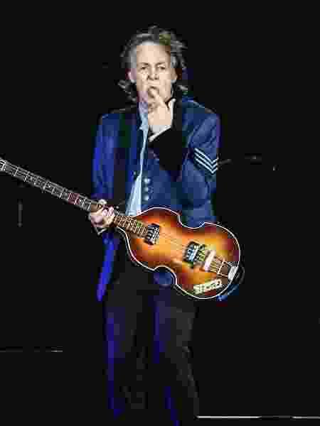 Show do cantor Paul McCartney, no estádio Allianz Parque, em São Paulo - Lucas Lima/UOL
