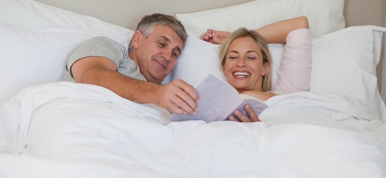 Se ambos estão tranquilos e percebem que o amor e o desejo mútuo continuam a existir, tudo corre bem - Getty Images