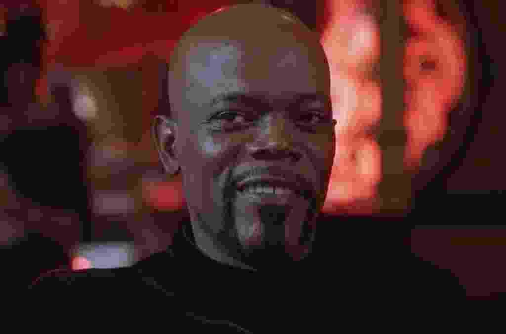 """Samuel L. Jackson em cena de """"Shaft"""" (2000) - Divulgação"""