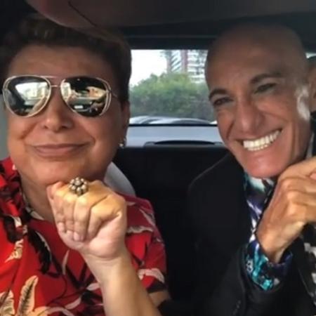 David Brazil voltam a falar com Amin Khader sete anos depois - Reprodução/Instagram