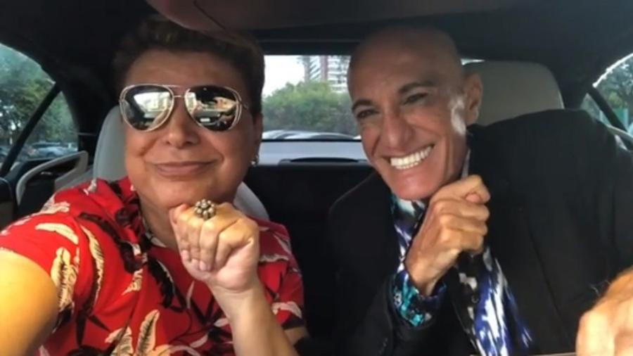 David Brazil voltam a falar com Amin Khader sete anos depois da confusão de um anúncio sobre uma falsa morte - Reprodução/Instagram