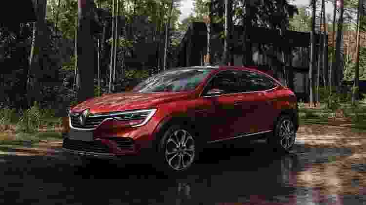 Renault Arkana Concept 2019 - Divulgação - Divulgação