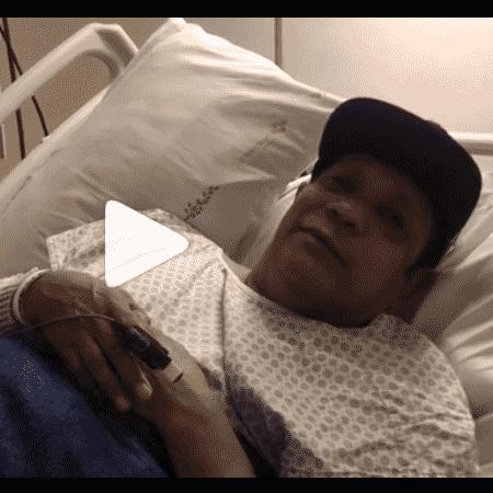 Liminha no hospital - Reprodução/Instagram