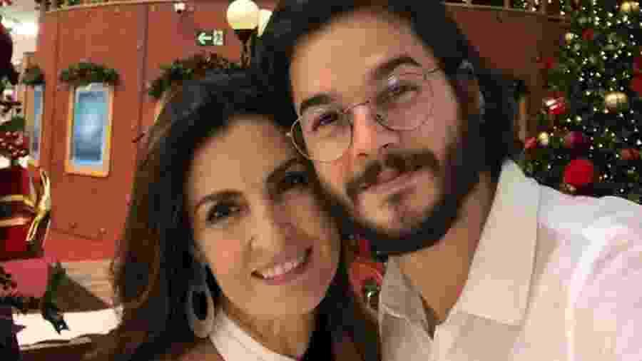 Fátima Bernardes posta foto ao lado de Túlio Gadêlha após ele ter alta do hospital - Reprodução/Instagram