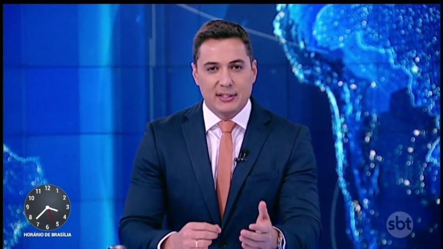 Thiago Nolasco, ex-repórter e âncora ocasional do SBT, foi contratado pela Record - Reprodução / YouTube SBT