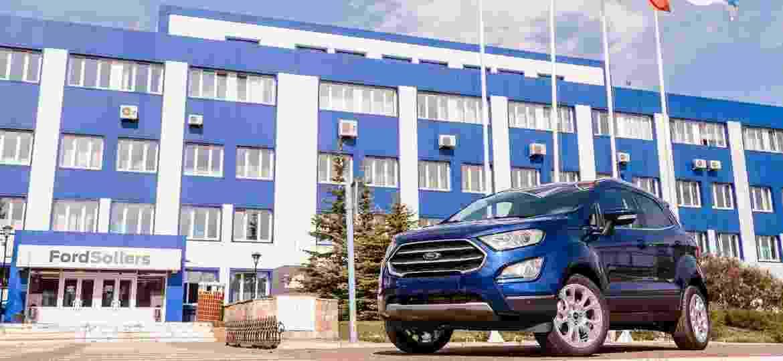 EcoSport é um dos modelos feitos na fábrica de Tatarstan - Divulgação