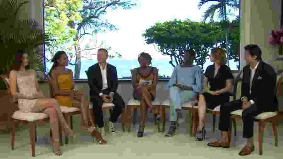 """Elenco de """"Bond 25"""" é anunciado em Golden Eye, na Jamaica - Reprodução"""
