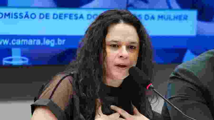 A deputada estadual Janaína Paschoal (PSL-SP) participa de debate na Câmara dos Deputados, em Brasília - Pablo Valadares/Câmara dos Deputados