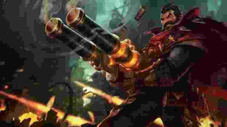 League of Legends - Graves - Reprodução - Reprodução