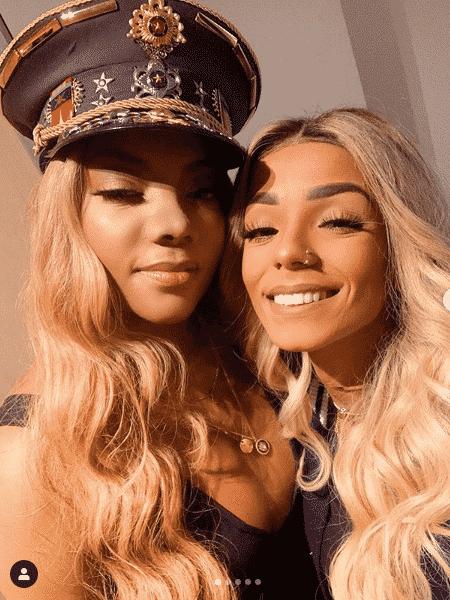 Ludmilla e a namorada, Brunna Gonçalves - Reprodução/Instagram