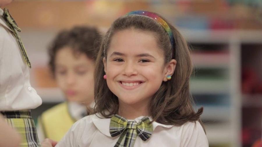 Maisa Silva em cena de Carrossel, do SBT - Reproduçaõ