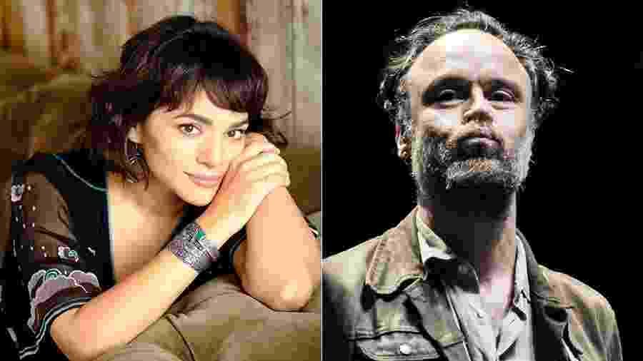 Norah Jones disponibilizou duas músicas em parceria com o brasileiro Rodrigo Amarante - Montagem UOL