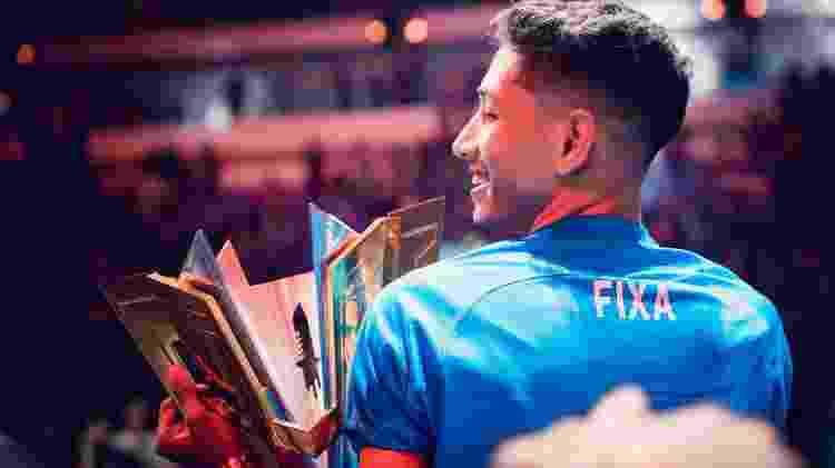 Fixa (ou Ficha) comandou o Corinthians a ser campeão mundial de Free Fire - Divulgação/Garena