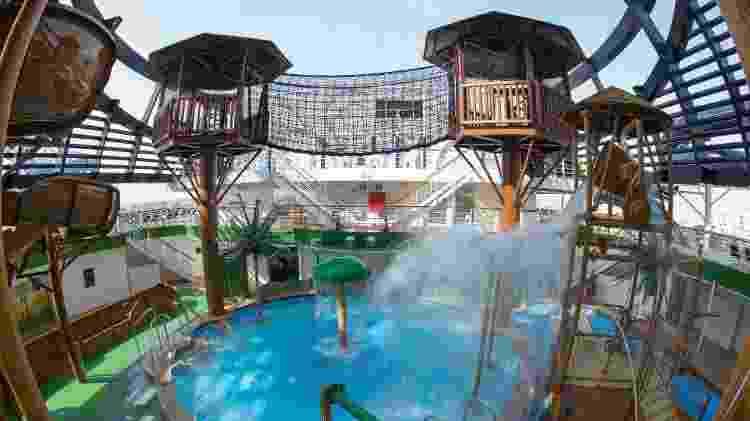 Parque aquático infantil do MSC Seaview - Divulgação