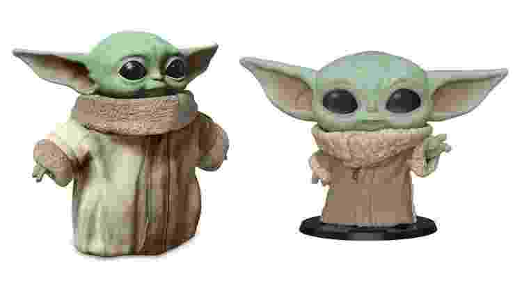 Bonecos do Baby Yoda foram anunciados nesta semana - Mattel / Funko Pop / Disney