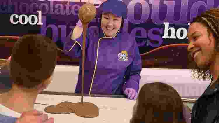 Apresentação dos chocolates da Cadbury - Divulgação/VisitBritain - Divulgação/VisitBritain