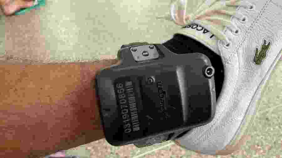 Suspeito de atirar em três foliões no Carnaval de Salvador usava tornozeleira eletrônica - SSP-BA/Divulgação