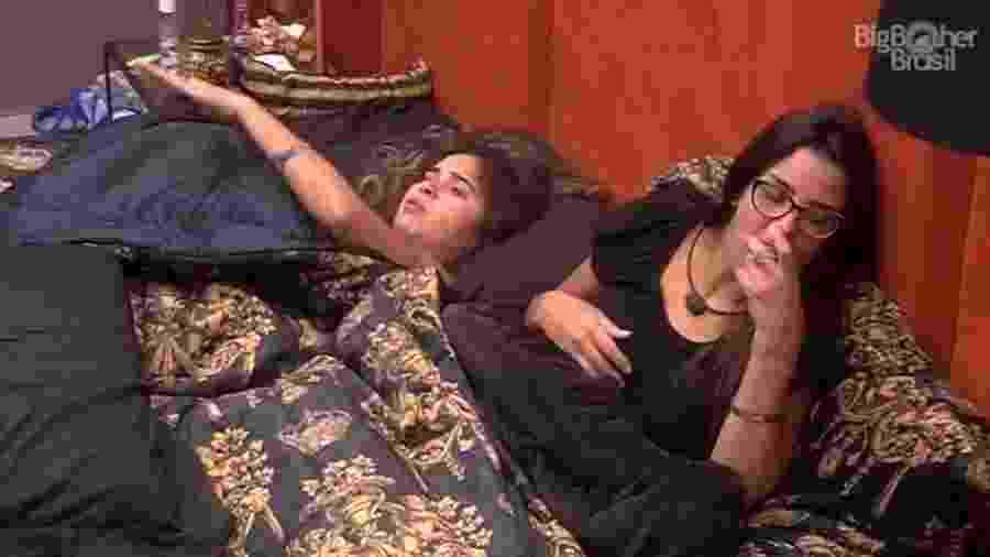 BBB 20: Gizelly se queixa de Marcela para Ivy - Reprodução/Globoplay