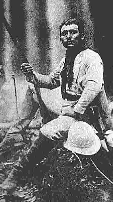 Cândido Rondon quando jovem, desbravando a Amazônia - Wikimedia/Domínio público - Wikimedia/Domínio público
