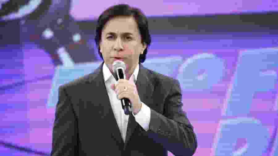 """Tom Cavalcante na época do """"Show do Tom"""", na Record  - Divulgação"""