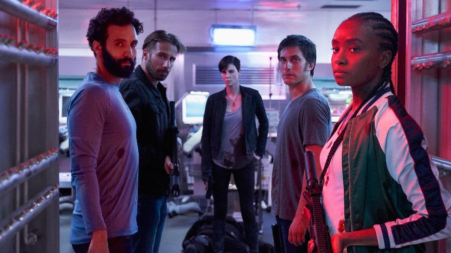 """Cena de """"The Old Guard"""", filme mais visto da Netflix em 2020 - Divulgação/Netflix"""