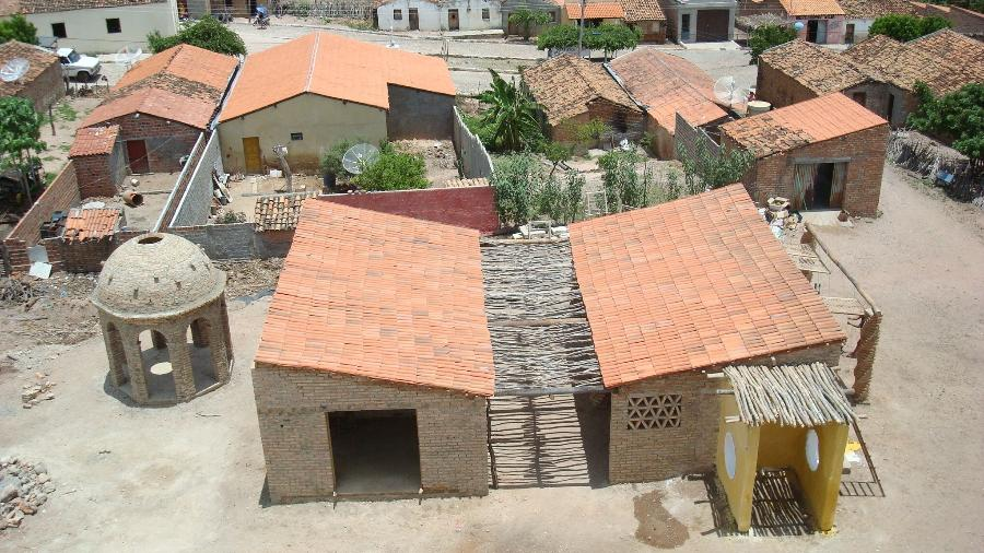 Projeto A Gente Transforma criou construção com permacultura no Piauí - Tatiana Cardeal/Divulgação