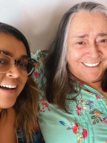 Preta Gil comemora reencontro com a mãe - Reprodução/Instagram