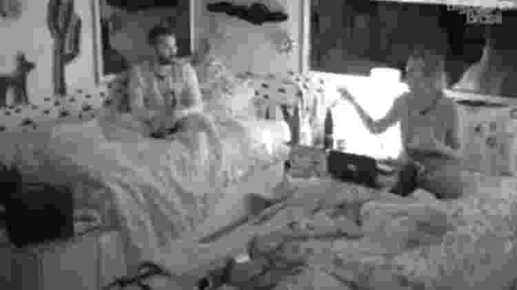 BBB 21: Gilberto conversa com brothers no quarto cordel - Reprodução/Globoplay - Reprodução/Globoplay