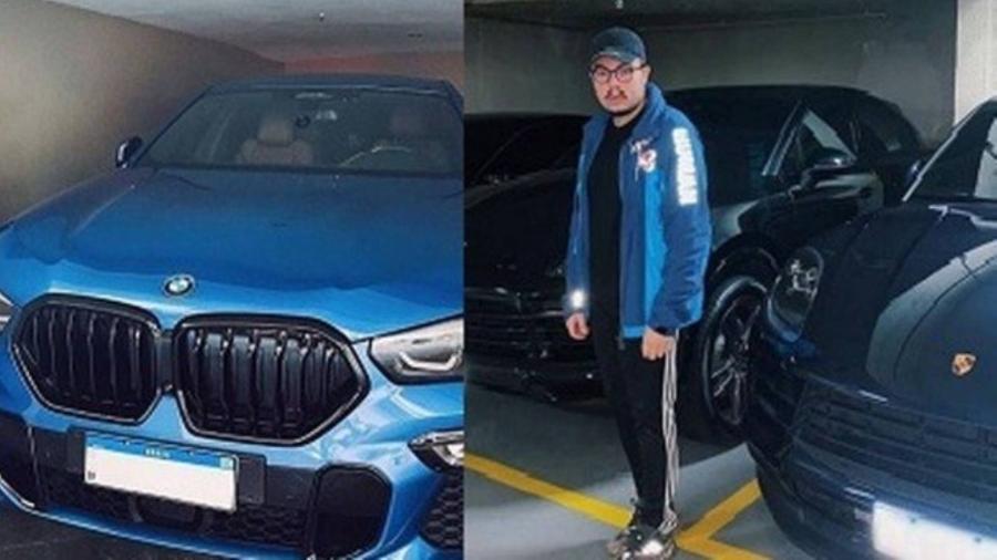 Vice-presidente da Vila Isabel ostenta carros luxuosos milionários - Imagem: Reprodução/Instagram