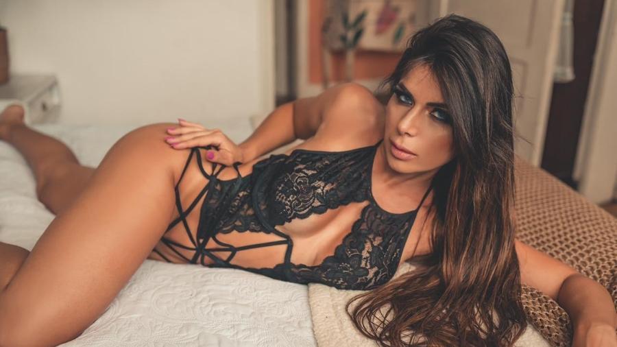 Vanessa Perez anunciou que posará nua para revista - Fernando De Santis/Edu Graboski/Divulgação