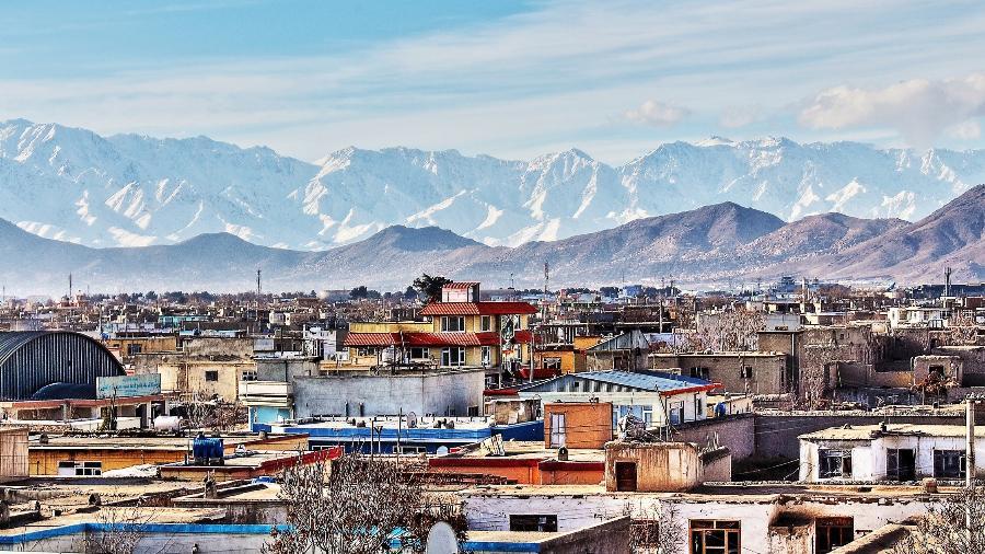 Imagem de Kabul, capital do Afeganistão - Getty Images/iStockphoto