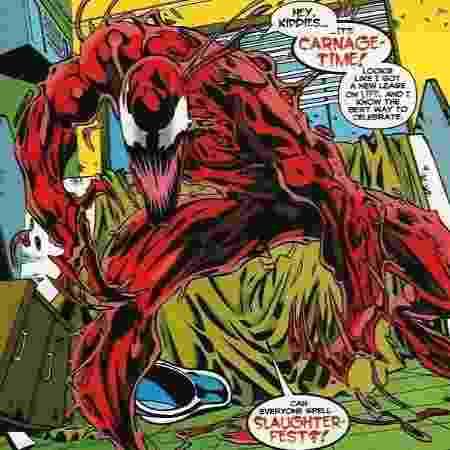 Woody Harrelson será o Carnificina no filme de Venom, diz site - Reprodução - Reprodução