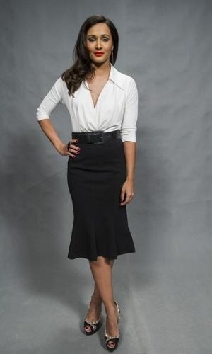 Andressa Turbinada (Thaissa Carvalho) - Funkeira de sucesso que se envolve com Merlô (Juliano Cazarré)