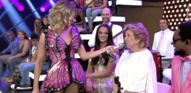 """""""Você sabe o que é dildo?"""", pergunta Fernanda Lima à mãe em """"Amor e Sexo"""" - Reprodução/TV Globo"""
