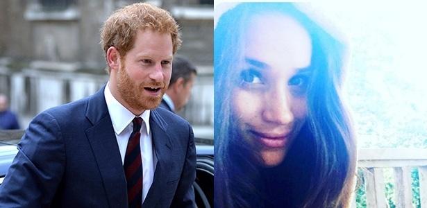 Namoro do príncipe Harry com atriz foi aprovado pela Rainha - Getty Images e Reprodção/Instagram