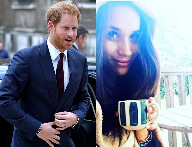Príncipe Harry estaria namorando a atriz Meghan Markle; os dois usaram pulseiras iguais - Getty Images e Reprodção/Instagram