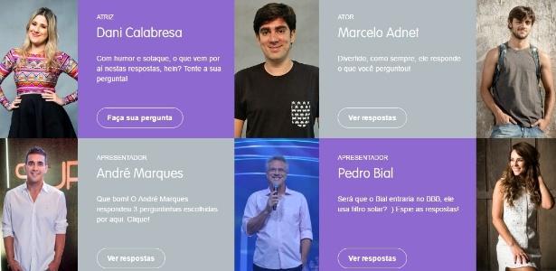 Conversa.Globo é uma plataforma de relacionamento da Rede Globo - Reprodução