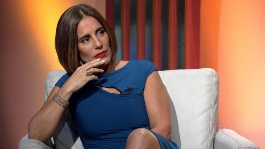 """Gloria Pires virou um """"meme"""" histórico no Oscar 2016 - Reprodução/TV Globo"""