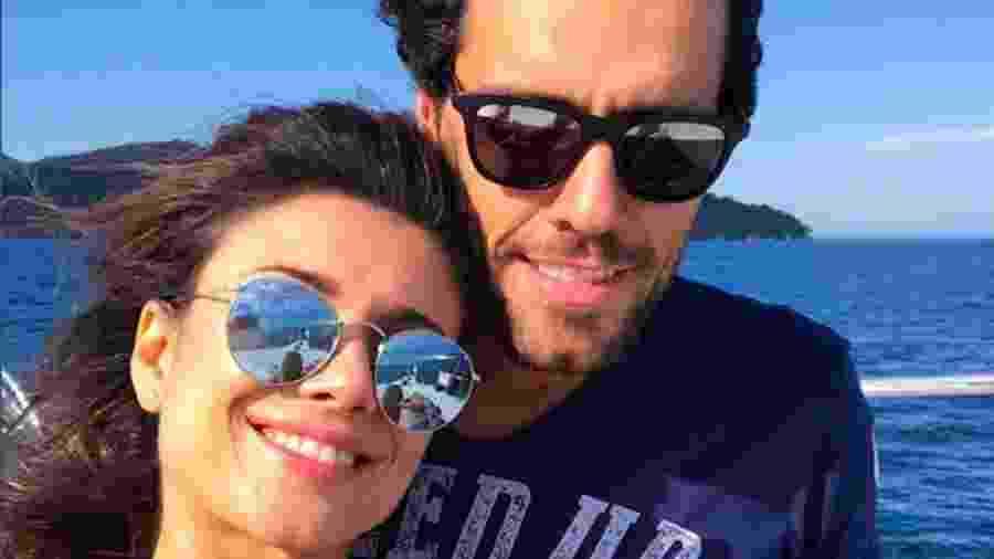 Paula Fernandes e Thiago Arancam assumiram namoro publicamente este mês - Reprodução/Instagram