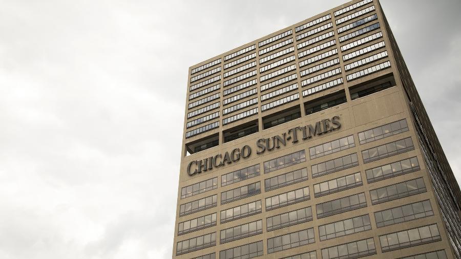 Fachada do prédio do Chicago Sun-Times - Divulgação