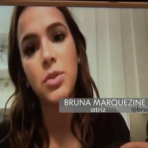 """Bruna Marquezine vira pauta no """"Jornal Hoje"""""""