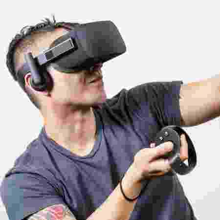 Oculus Rift é mais uma aposta para a realidade virtual - Divulgação - Divulgação