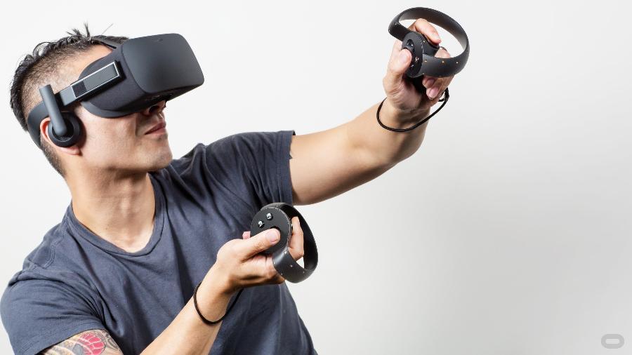 Óculos para realidade virtual: tecnologias existentes já permitiriam grande imersão numa partida de futebol - Divulgação