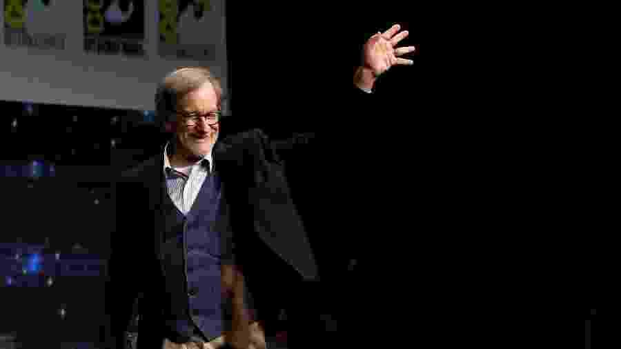 "Steven Spielberg apresentou o filme ""Jogador Nº 1"" na Comic-Con - Reuters/Mario Anzuoni"