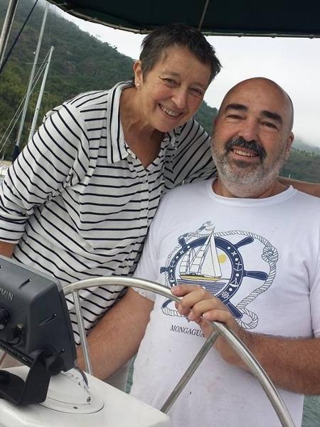 Elfriede e o marido, Jadyr - Reprodução/Facebook