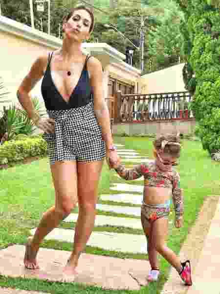 Bella Falconi e Vicky, de 2 anos - Reprodução/Instagram