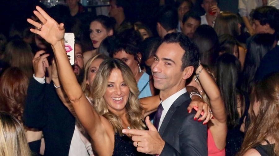 Cesar Tralli e Ticiane Pinheiro curtem festa de debutante da ex-Masterchef Sofia Bresser - Manuela Scarpa/Brazil News