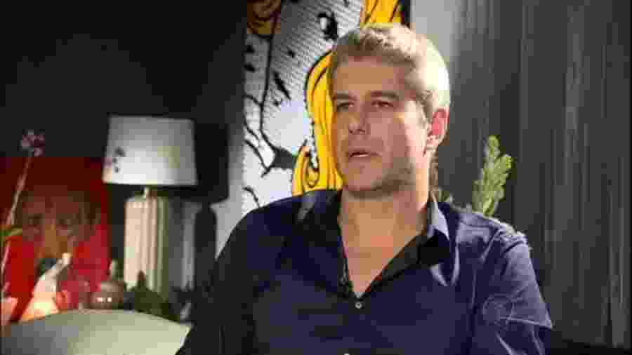 Gustavo Corrêa, cunhado de Ana Hickmann - Reprodução/TV Record